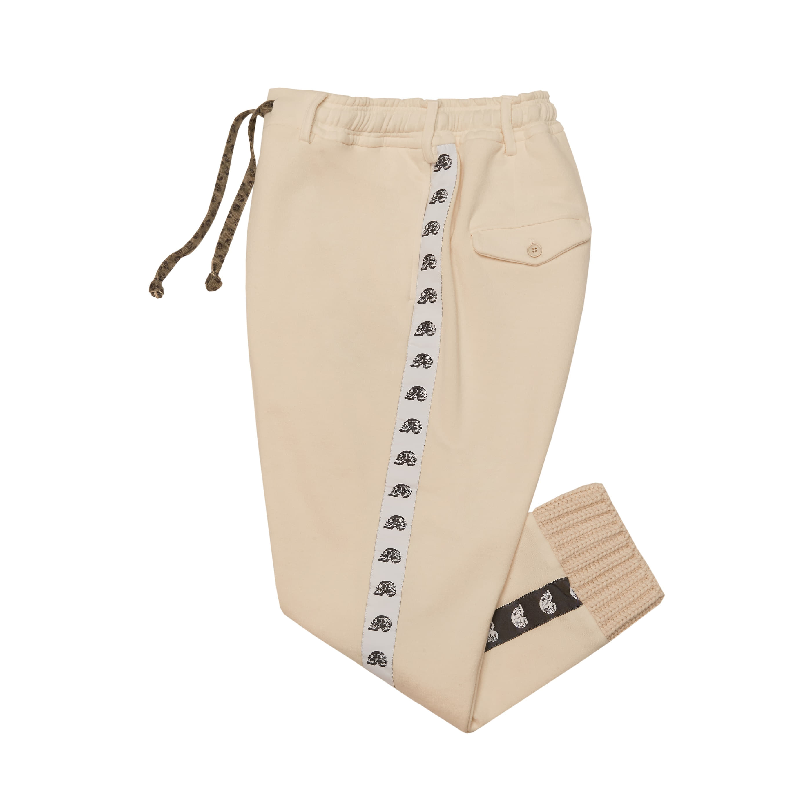 [GABRIELE PASINI] SWEAT PANTS (WHITE)