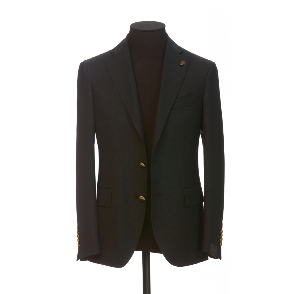 [GABRIELE PASINI] WOOL JACKET (BLACK)