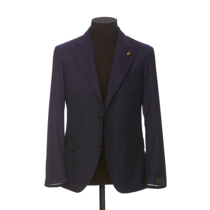 [GABRIELE PASINI] SINGLE JACKET (NAVY)