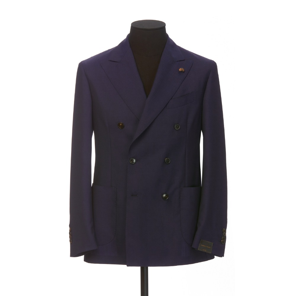 [GABRIELE PASINI] DOUBLE JACKET (NAVY)
