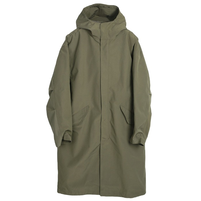 [TAION] HOOD COAT (OLIVE)