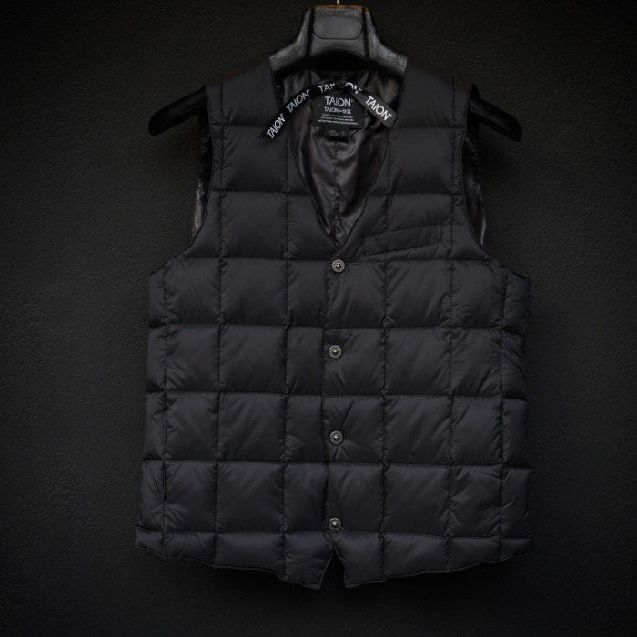 [TAION] SINGLE VEST (BLACK)