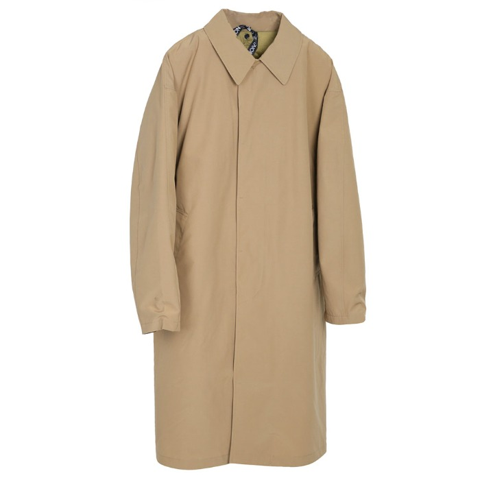 [TAION] COLLAR COAT (BEIGE)