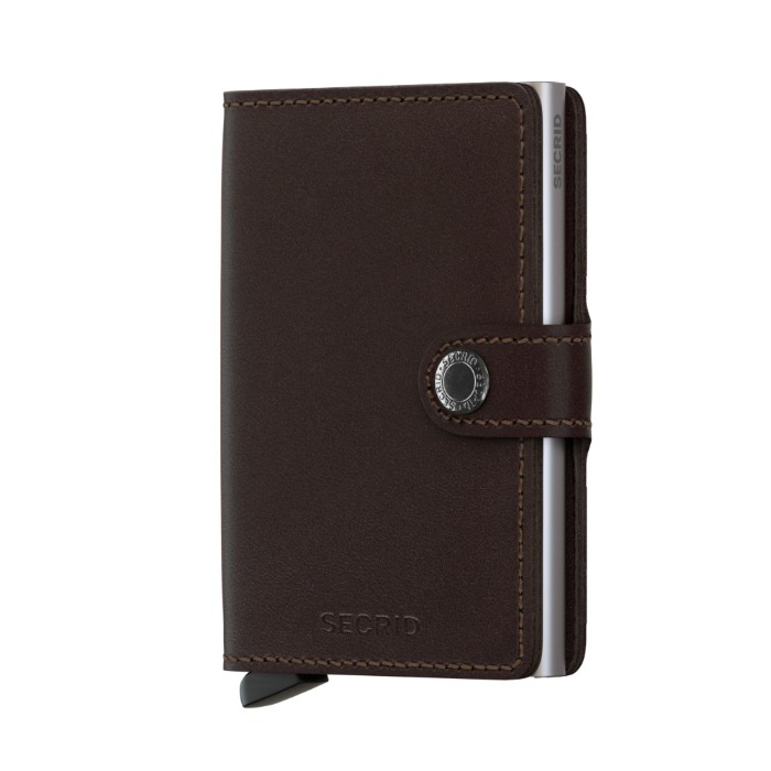 [SECRID] CARD HOLDER (DARK BROWN)