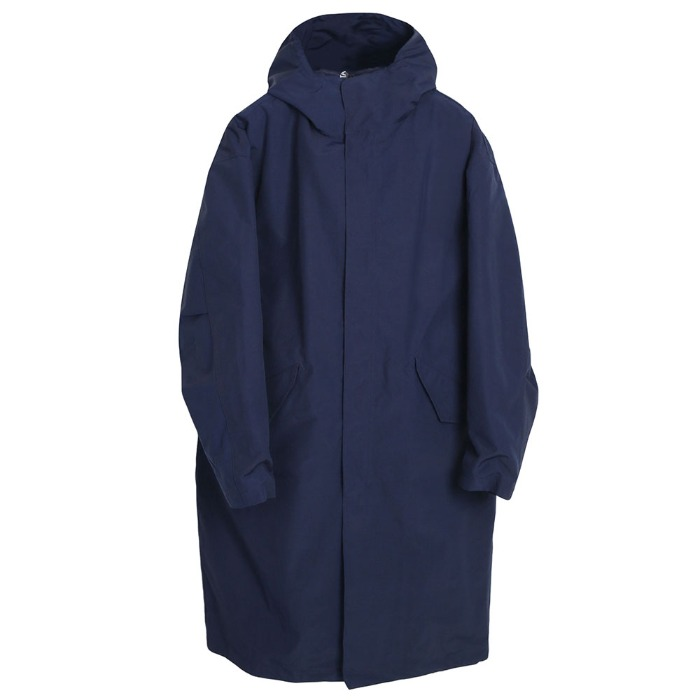 [TAION] HOOD COAT (NAVY)