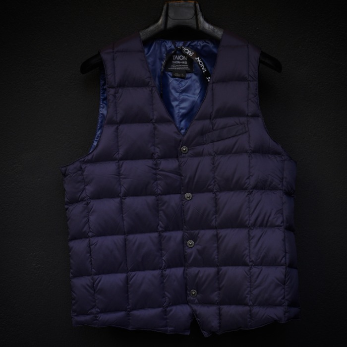 [TAION] SINGLE VEST (NAVY)