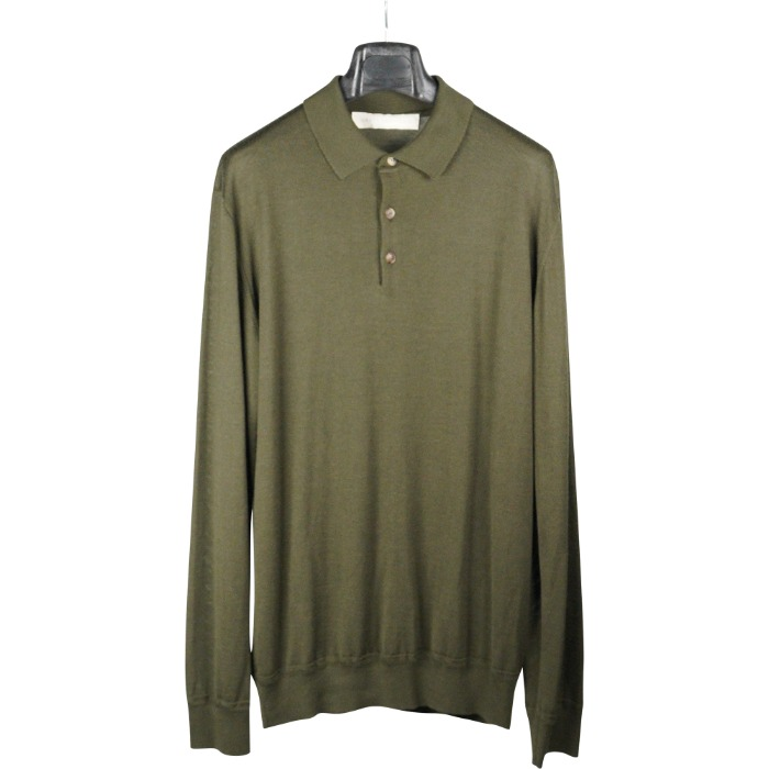 [BRETT JOHNSON] CASHMERE KNIT (KHAKI)