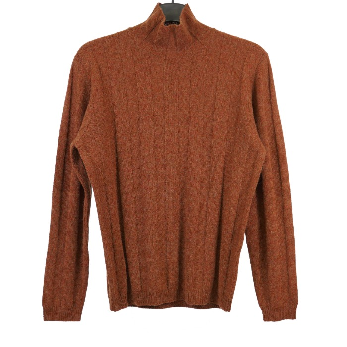 [STILE LATINO] YACK TURTLENECK KNIT (BROWN)