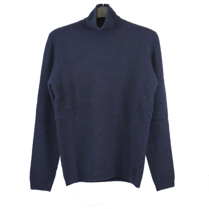 [STILE LATINO] TURTLENECK KNIT (NAVY)