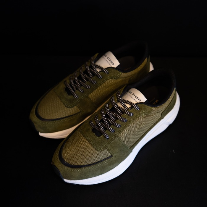 [MANO STUDIO] RUNNER SNEAKERS (GREEN)