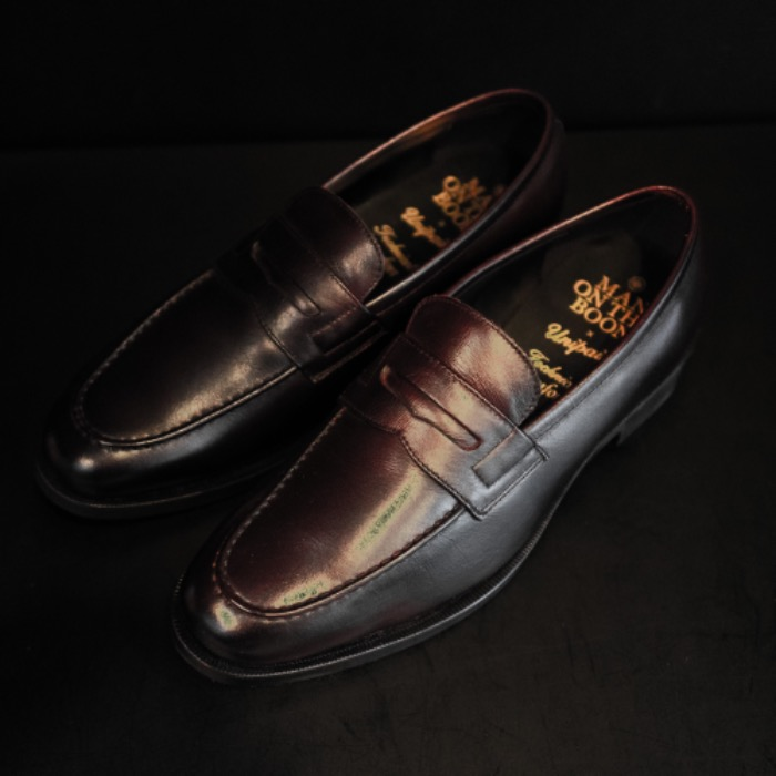[MAN ON THE BOON] PENNY LOAFER (DARK BROWN)