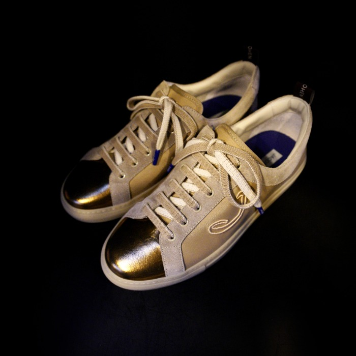 [JACOB COHEN] SNEAKERS (GOLD)