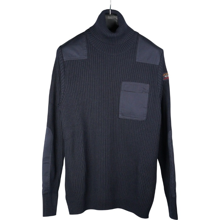 [PAUL&SHARK] FISHERMAN TURTLENECK KNIT (NAVY)
