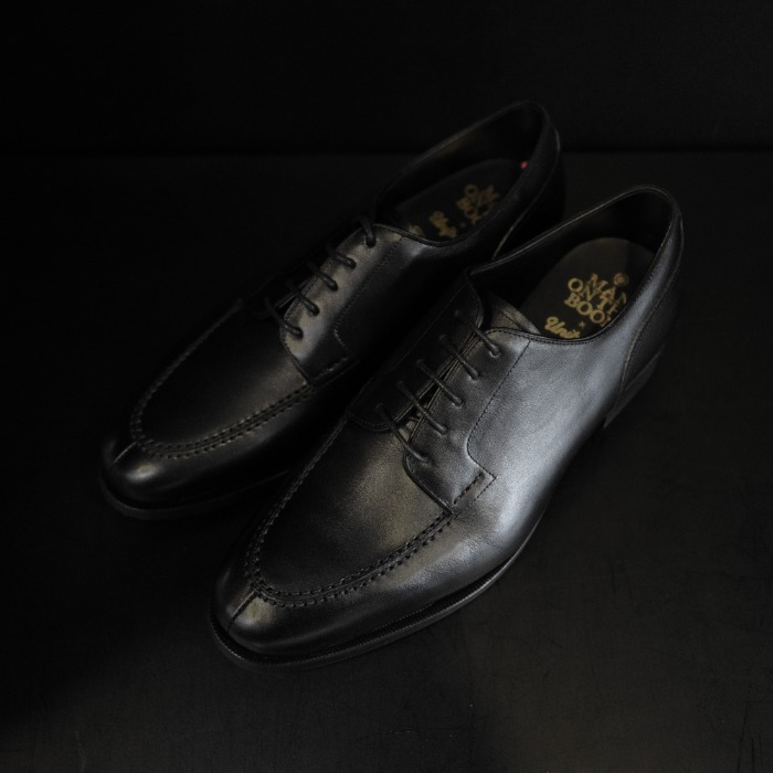 [MAN ON THE BOON] U TIP DERBY (BLACK)