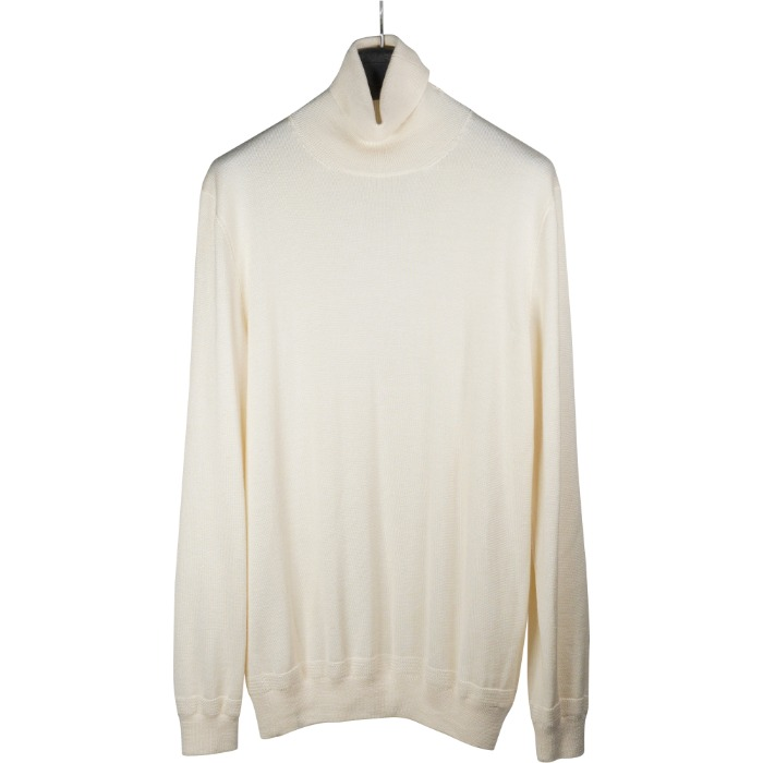[BRETT JOHNSON] TURTLENECK KNIT (IVORY)
