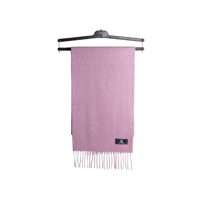 [COLOMBO] CASHMERE MUFFLER (LIGHT PINK)
