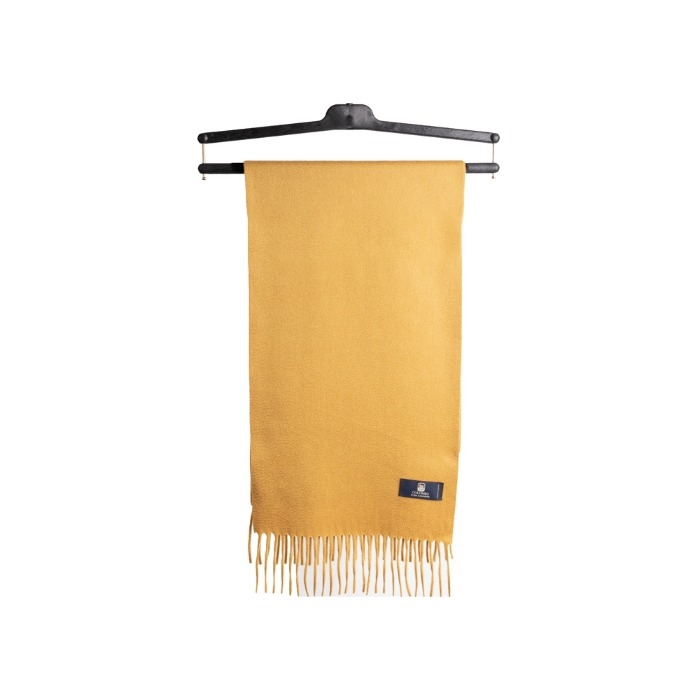 [COLOMBO] CASHMERE MUFFLER (YELLOW)