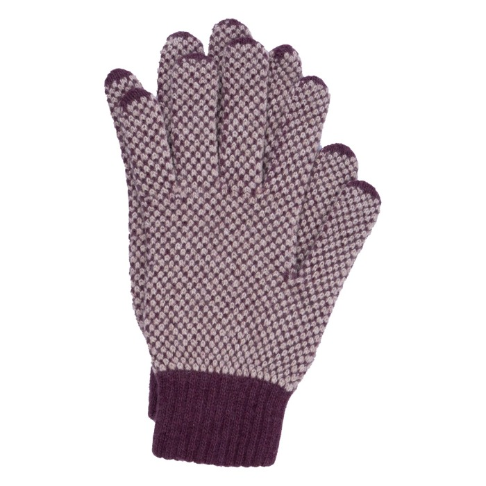 [ALPO] KNIT GLOVE (PURPLE)