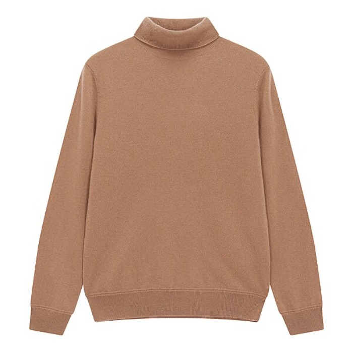 [MAN ON THE BOON] CASHMERE TURTLENECK (BEIGE)