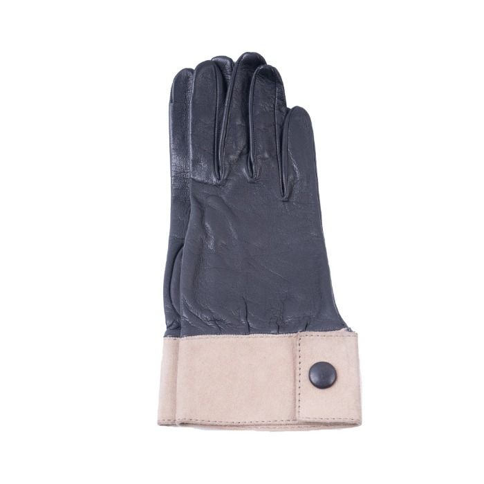 [ALPO] WOMAN LEATHER GLOVE (BLACK)