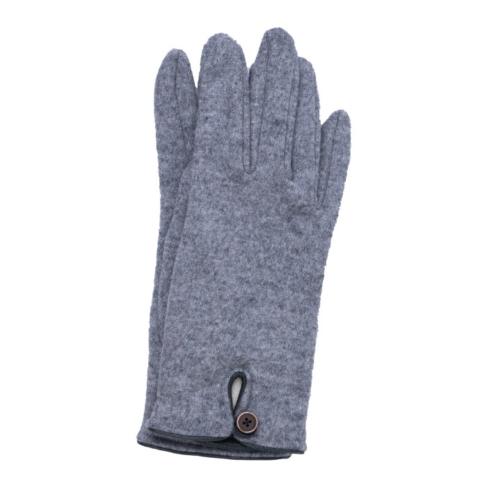 [ALPO] WOMAN KNIT GLOVE (GREY)