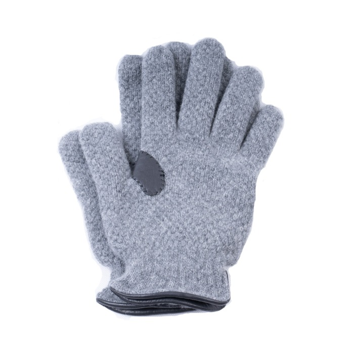 [ALPO] KNIT GLOVE (GREY)