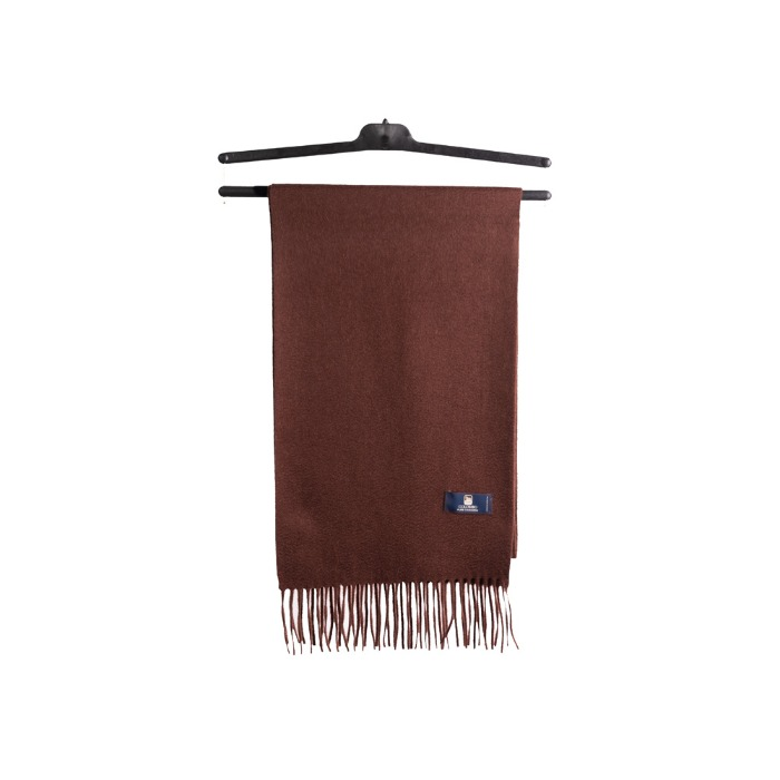 [COLOMBO] CASHMERE MUFFLER (BROWN)