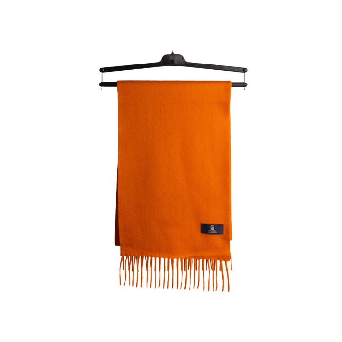 [COLOMBO] CASHMERE MUFFLER (ORANGE)