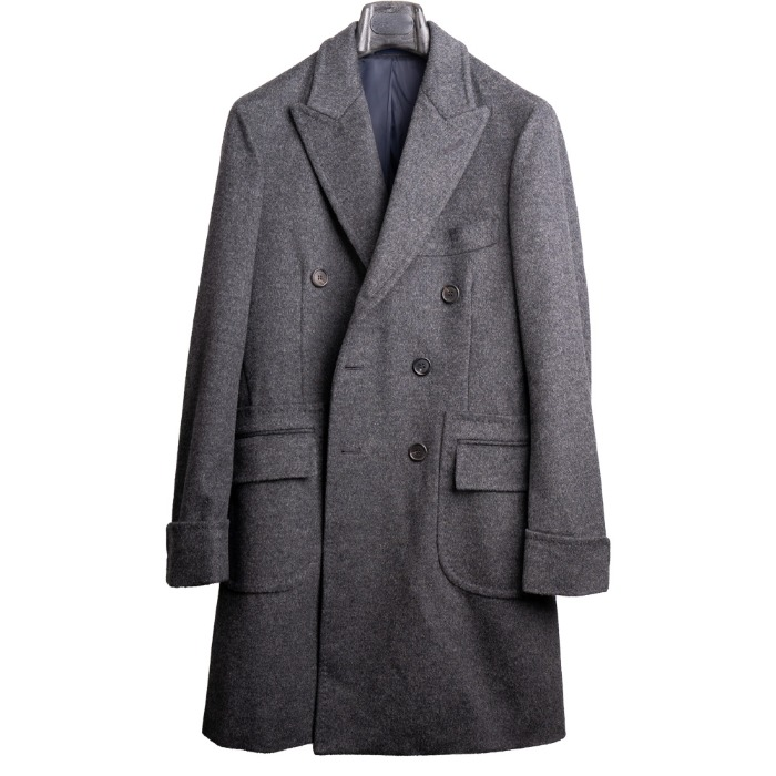 [ALAN'S] WOOL COAT (GREY)