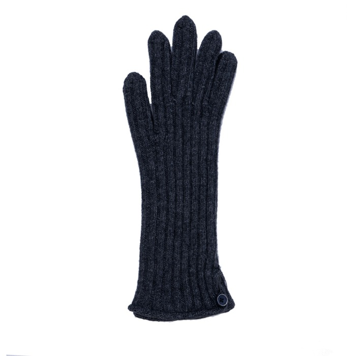 [ALPO] WOMAN KNIT GLOVE (CHARCOAL)