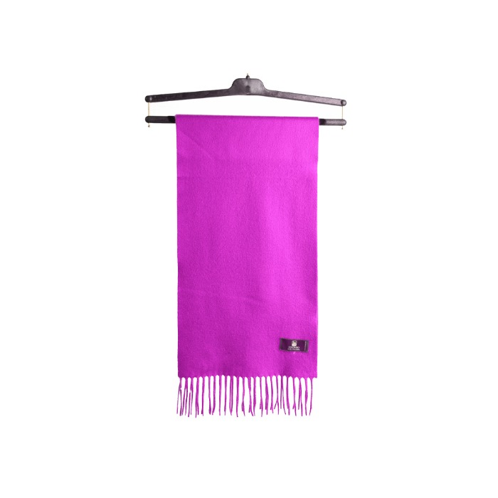 [COLOMBO] CASHMERE MUFFLER (HOT PINK)