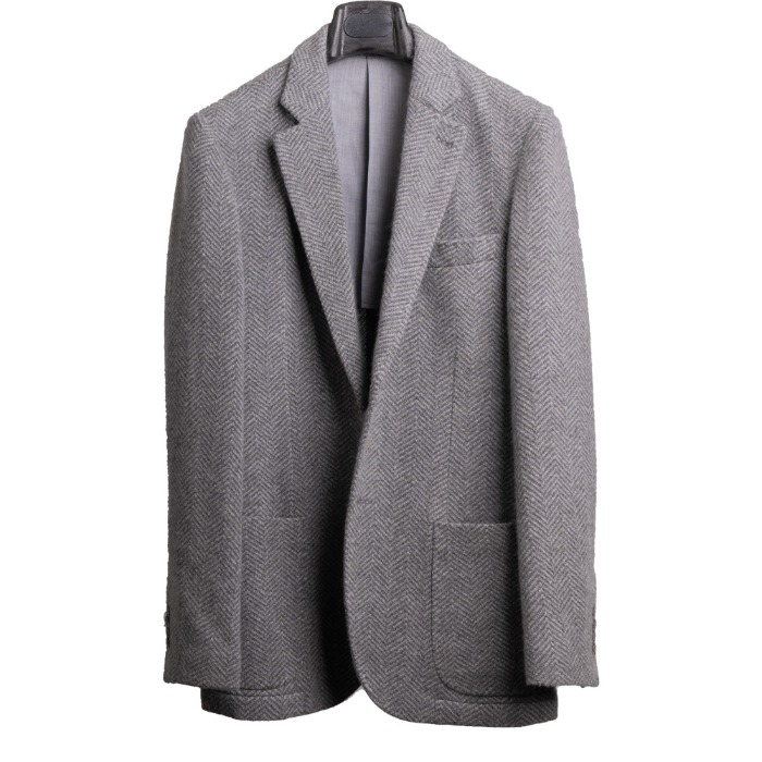 [RICHRD CHOI] CASHMERE JACKET (GREY)