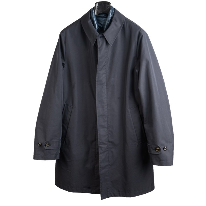 [SEAL UP] PADDING MAC COAT (NAVY)