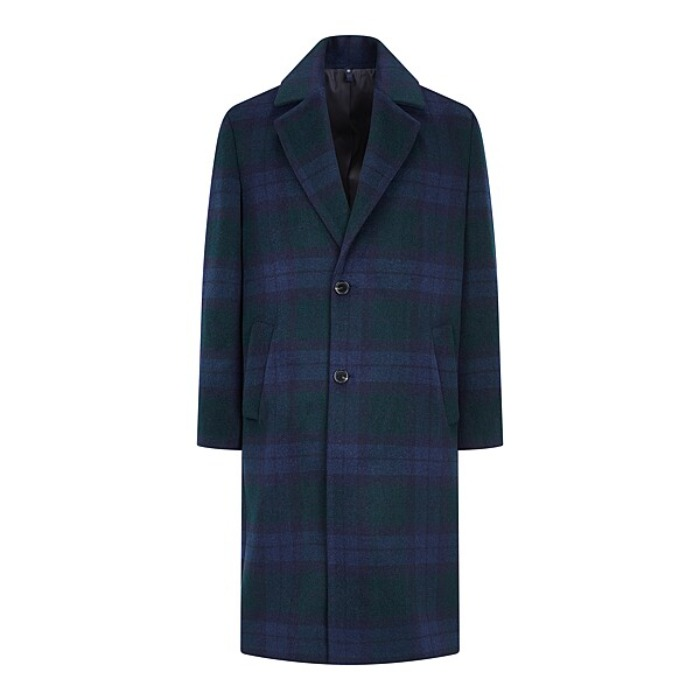 [MAN ON THE BOON] CHECK COAT (BLACK WATCH)