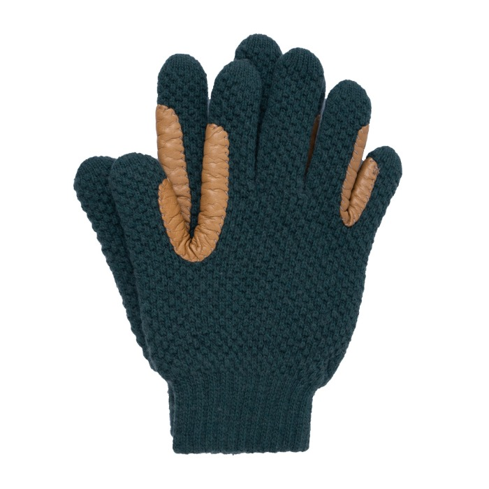 [ALPO] KNIT GLOVE (GREEN)