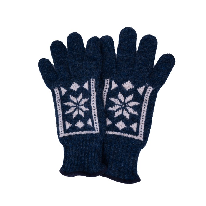 [ALPO] KNIT GLOVE (NAVY)