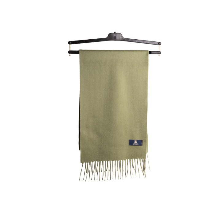 [COLOMBO] CASHMERE MUFFLER (OLIVE)