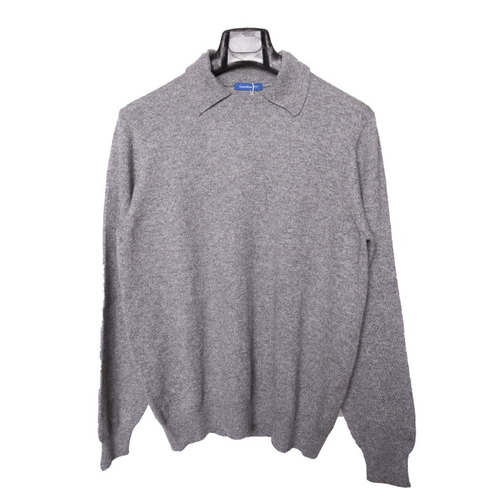[GUERCILENA1944] COLLAR KNIT (GREY)