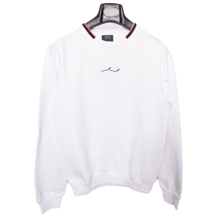 [PAUL&SHARK] SHARK SWEAT SHIRT (WHITE)