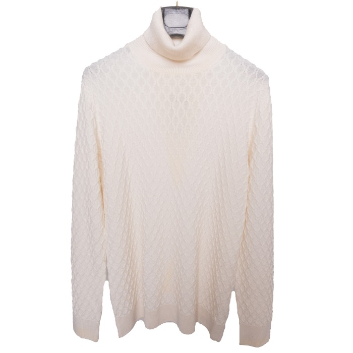 [GARBRIELE PASINI] WOOL KNIT (OFF WHITE)