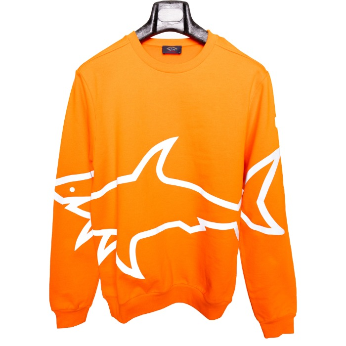 [PAUL&SHARK] BIG SHARK SWEAT SHIRT (ORANGE)