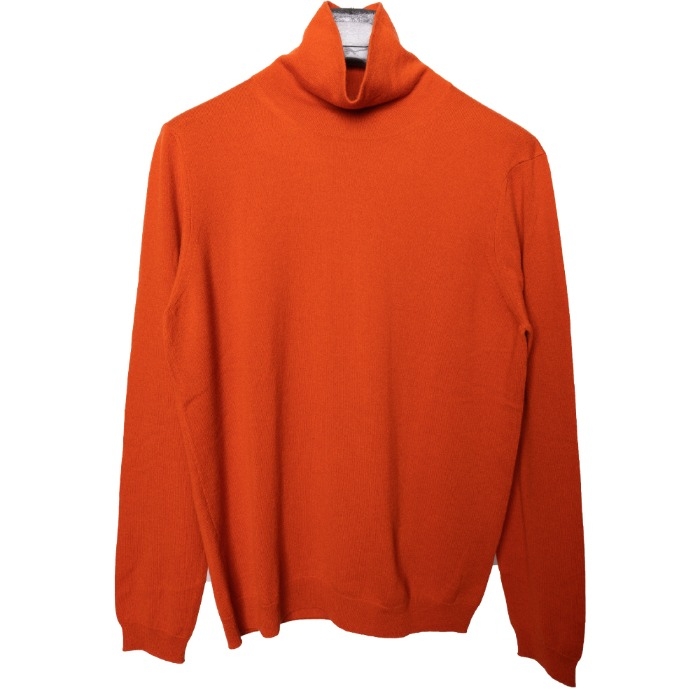 [STILE LATINO] CASHMERE KNIT (ORANGE)
