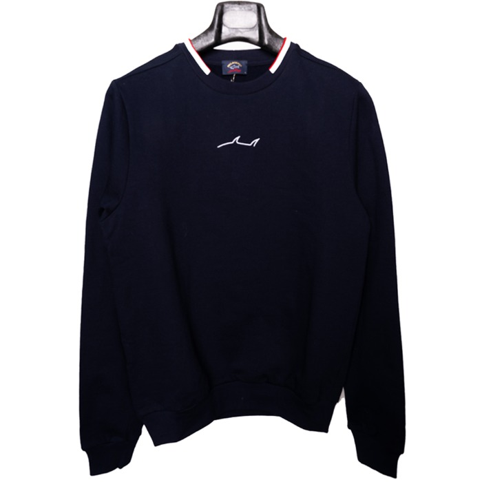 [PAUL&SHARK] SHARK SWEAT SHIRT (NAVY)